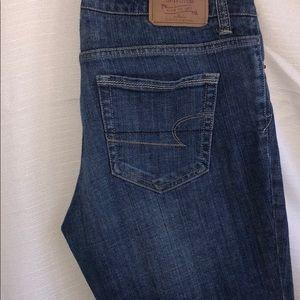 American Eagle Size 10 Denim Straight Leg Jean